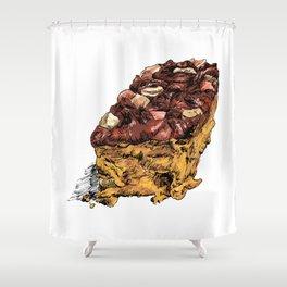 Fruitcake Shower Curtain