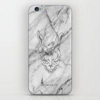donnie darko iPhone & iPod Skins featuring Donnie Darko Marble by JulietteEp