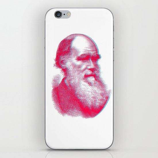 Charles Darwin iPhone & iPod Skin