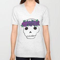 Princess Skull Unisex V-Neck