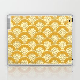 Yellow Wabi Sabi Wave II Laptop & iPad Skin