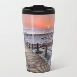 """""""To the beach...""""Cabo de Gata"""". Travel Mug"""