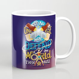 Defend your world v2 Coffee Mug