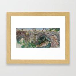 Espada Aqueduct Framed Art Print
