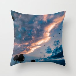 Night Begins To Fall Throw Pillow