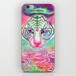 Rainbow Tigress iPhone Skin