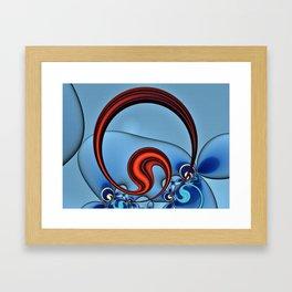 Woven Circlet Framed Art Print