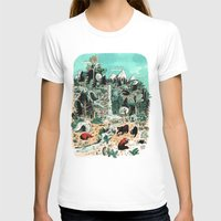 canada T-shirts featuring Wild Canada by Mathilde George