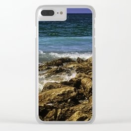 Peaceful Surroundings Clear iPhone Case