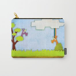Unicorn Hunt Carry-All Pouch