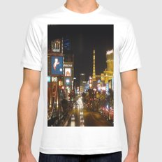 The Strip MEDIUM Mens Fitted Tee White