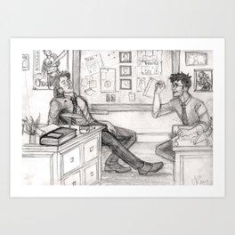 Working Aurors Art Print