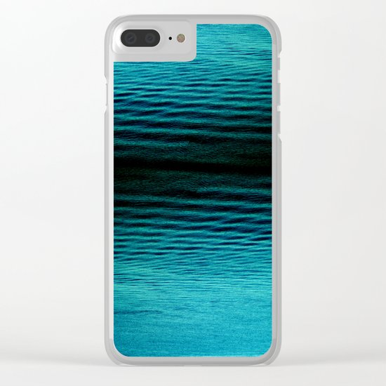 acid waves Clear iPhone Case