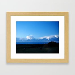Like your eyes Framed Art Print