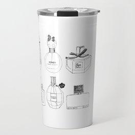 Boudoir Glamour Perfumes Print Travel Mug