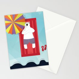Polar Relax Stationery Cards