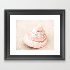 Pink Chiffon Framed Art Print