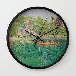 Rhine River Wall Clock