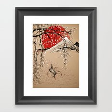 Japan Fishermen Framed Art Print