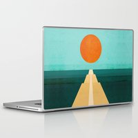 road Laptop & iPad Skins featuring The Road Less Traveled by Picomodi