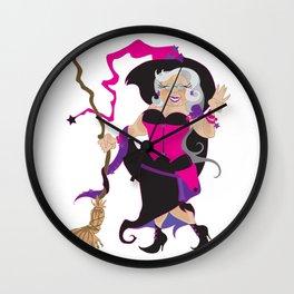 Granny Hex (Purple) Wall Clock