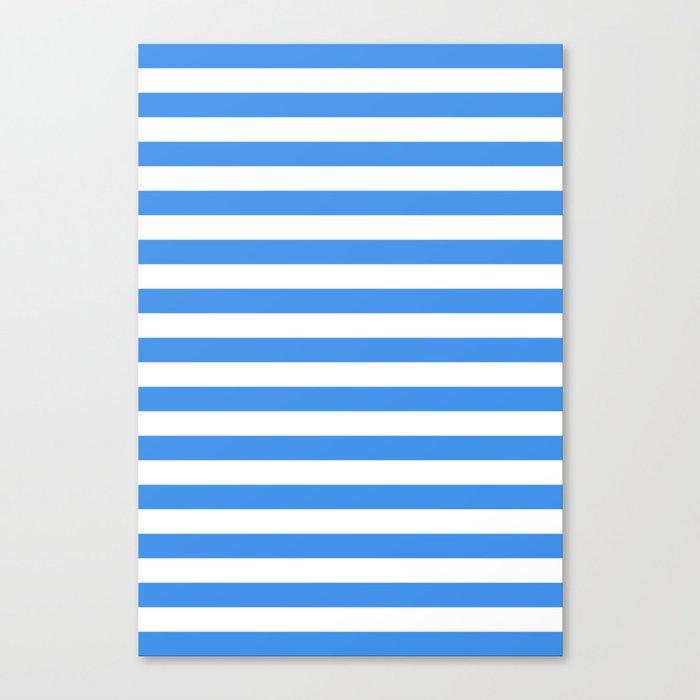 Micronesia San Marino Somalia Nicaragua flag stripes Leinwanddruck