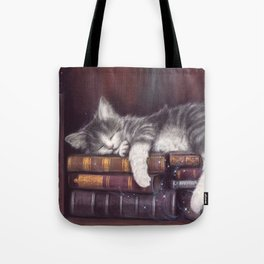 Keeper of the Books Tote Bag