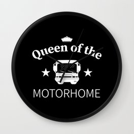Gift Idea for the Queen of the Motorhome Wall Clock