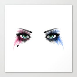 Look of Madness Canvas Print