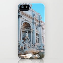 Trevi Fountain in Summer iPhone Case
