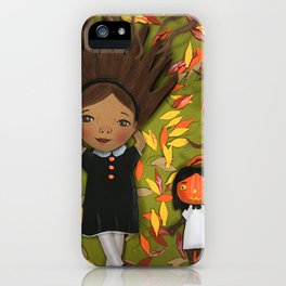 Little Fall Witch iPhone Case