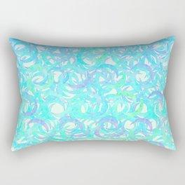Ocean Crescents Rectangular Pillow