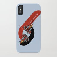 foo fighters iPhone & iPod Cases featuring Raiden Fighters by Slippytee Clothing