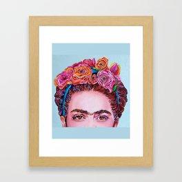 """Frida Kahlo """"I See You"""" Framed Art Print"""