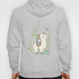 Alpaca Kiss Hoody