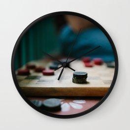 King Me Wall Clock
