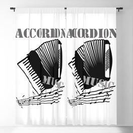 Accordion Music  Blackout Curtain