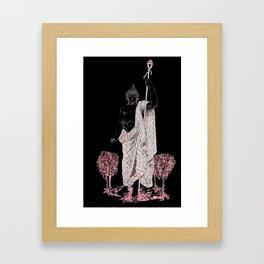 Dionysus: Bacchus of the Vine (Black) Framed Art Print
