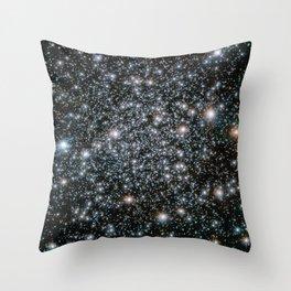 Star Cluster NGC 6496 Throw Pillow
