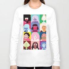 Steven Universe Character Print Long Sleeve T-shirt