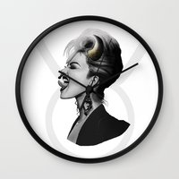 taurus Wall Clocks featuring Taurus by BeckiBoos