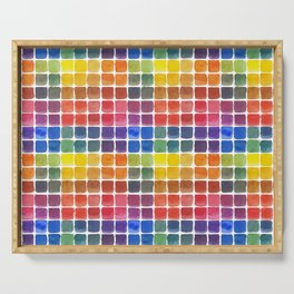Mix it Up! - Watercolor Mixing Chart Serving Tray