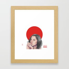 Mizuhara pt.1 Framed Art Print