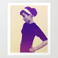 Audrey Hepburn Vintage Art Print