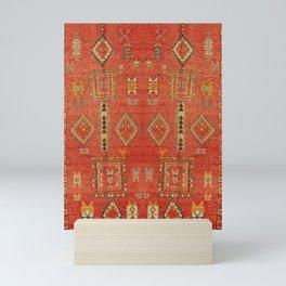 Moroccan Traditional Heritage Design Berber Style E5 Mini Art Print