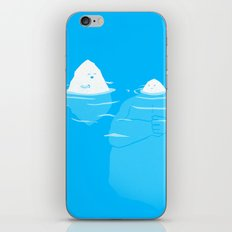 The Tip Of The Iceberg iPhone Skin