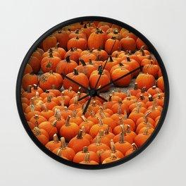 More than a peck of pumpkins at Peck's Produce Farm Market! Wall Clock