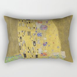 Gustav Klimt - The Kiss Rectangular Pillow