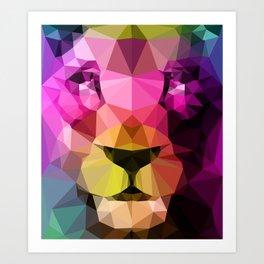 Wild Neon 01a. Art Print