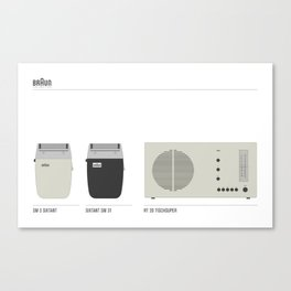 BRAUN Canvas Print